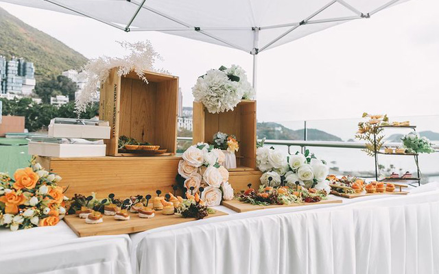 Canapés Wedding
